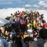 Фотосессия в облаках (у статуи Христа в Рио-де-Жанейро) :: ZNatasha -