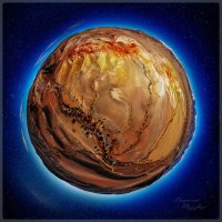 Марсианские горы. Горный Алтай. :: Виталий Томский
