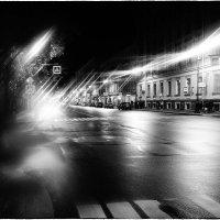 My magic Petersburg_03154 ул. Восстания Вчерашний первый опыт с использованием вазелина на стекле об :: Станислав Лебединский