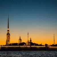 прогулка по ночному Санкт-Петербургу :: Инна Церульнёва