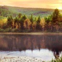 река Тында, Амурская область :: Юлия Рамелис