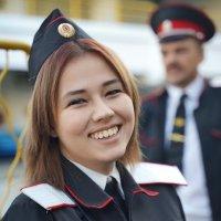 Молодая казачка при исполнении :: Андрей Майоров