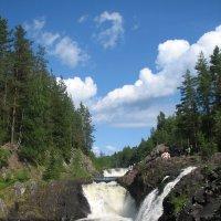 Водопад Кивач. :: Павел