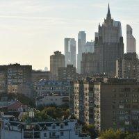 Здание Министерства иностранных дел на фоне высоток Москва-Сити. :: Наташа *****