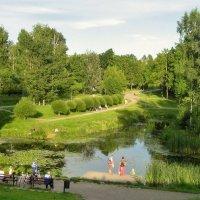 В парке :: Leonid Tabakov
