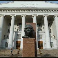 Памятники Волгограда. (Писатель А.Серафимович). :: Юрий ГУКОВЪ