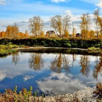 Осенние отражения :: Mikhail Irtyshskiy