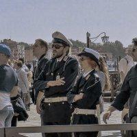 Venezia. Poliziotti a piazzetta San Marco. :: Игорь Олегович Кравченко