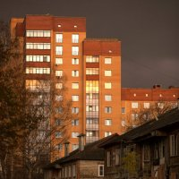 Отблески октябрьского заката. :: Ольга