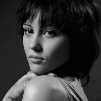 Portrait. Black and white glamor. Studio A. Krivitsky. :: krivitskiy Кривицкий