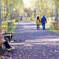 В парке :: Леонид leo
