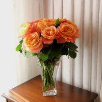 Розы моего октября :: Надежд@ Шавенкова