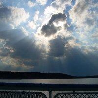 Небо над Волгой :: Инна Драбкина