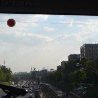 город из окна поезда :: Галина R...