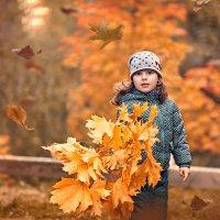 Листья желтые над городом кружатся. :: Наталья Мячикова