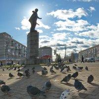 Памятник Герою Советского Союза Григорию Павловичу Кунавину. :: Михаил Полыгалов