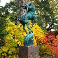 """""""Прыгающая газель"""" 1936г. Парк Миллеса Стокгольм :: Swetlana V"""