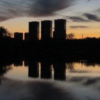 Октябрьский закат :: Дмитрий Никитин