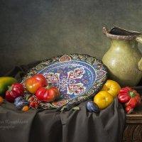 Натюрморт с турецкой тарелкой №2 :: Татьяна Карачкова
