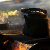 Походный чай. :: Ирэна Мазакина