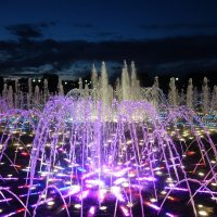 Вечерний фонтан в Царицыно :: Елена