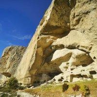 Качи-Кальон... Средневековый пещерный город... Kachi-Kalyon... Medieval cave city... :: Сергей Леонтьев
