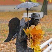 Скульптура «Петербургский ангел» :: skijumper Иванов