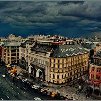Москва. Тучи над городом :: Сергей Никитин