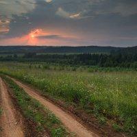 Теплый закат :: Мария Парамонова