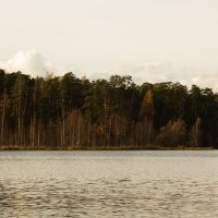 У озера в октябре :: Aнна Зарубина