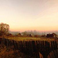 Туманное утро :: Андрей Снегерёв
