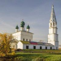 Осень в Осенево (Ярославская обл) :: Елена Панькина