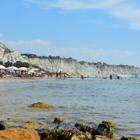 Пляжи  Тирренского моря.  Сицилия. :: АЛЕКС