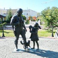 """Памятник """"вежливым людям"""" в Симферополе :: Алла Захарова"""