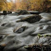 Осенние мотивы бурной реки... :: Андрей Войцехов