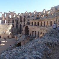 Амфитеатр в Эль Джеме. :: Чария Зоя