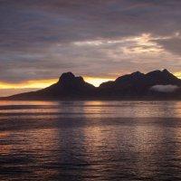 Северная Норвегия. Лофотенские острова. Переправа на материк в г. Будё. :: Надежда Лаптева
