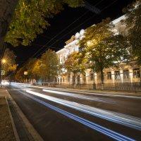 Вечерние огни. :: Александр Соболев