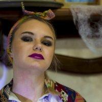 Солоха из Волжского :: Аркадий Баринов