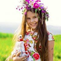 Девочка и кукла :: Ольга Черкес