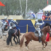 Борьба за флаг противника (состязания в меле) :: Дмитрий Солоненко