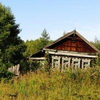 Старый деревенский дом :: Андрей Снегерёв