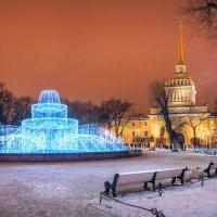Адмиралтейство и фонтан :: Юлия Батурина