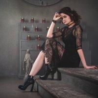 Готическая женственность :: Ольга Варсеева