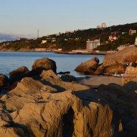 Детский пляж утром :: Игорь Кузьмин