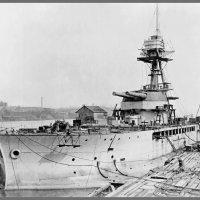 """""""HMS Marshal Soult"""".английский монитор,1915 год,достройка на плаву. :: Александр"""