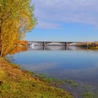 Мост через Енисей в Красноярске :: Татьяна Соловьева