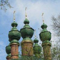 Купола церкви Благовещения Пресвятой Богородицы :: ИРЭН@ .