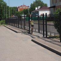 Через закрытые ворота. :: Ильсияр Шакирова