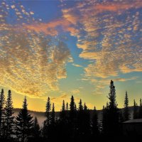 Утренняя пена небес :: Сергей Чиняев